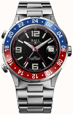 Ball Watch Company Roadmaster Pilot GMT Limited Edition Black Dial DG3038A-S2C-BK