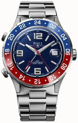 Ball Watch Company Roadmaster Pilot GMT Limited Edition Blue Dial DG3038A-S2C-BE