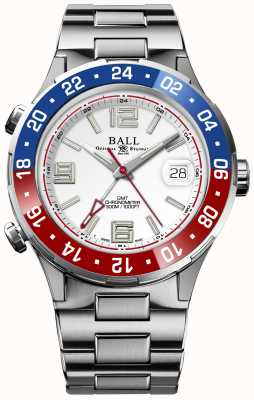 Ball Watch Company Roadmaster Pilot GMT Limited Edition White Dial DG3038A-S2C-WH