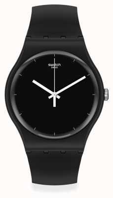 Swatch Think Time Black Bio-Ceramic Watch SO32B106
