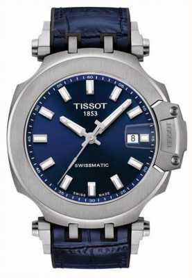 Tissot Swissmatic T-Race | Blue Dial | Blue Leather Strap T1154071704100