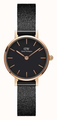 Daniel Wellington Petite Ashfield 24 mm Black Dial Watch DW00100441