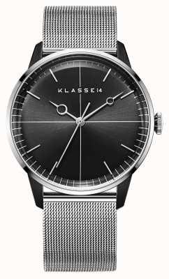 Klasse14 Disco Volante Silver Black Mesh 40mm WDI19SB001M