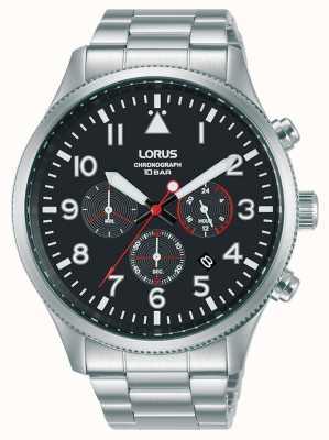 Lorus Chronograph Quartz Stainless Steel Bracelet RT363JX9