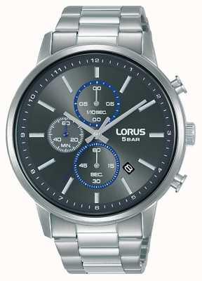 Lorus Chronograph Quartz Grey Sunray Dial RM399GX9