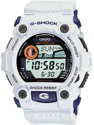 Casio G-Shock White Alarm Chrono G-7900A-7ER