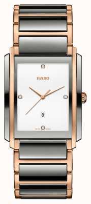 RADO Integral Diamonds Quartz Plasma High-Tech Ceramic R20140712