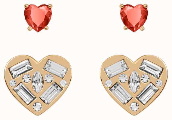 Radley Jewellery Radley Rocks Rose Gold Heart Stud Earrings RYJ1194S