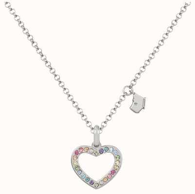 Radley Jewellery Love Radley Rainbow Heart Necklace RYJ2183