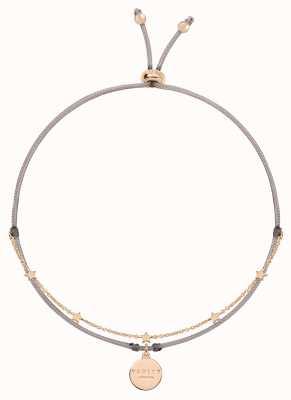 Radley Jewellery Love Radley Beige Cord and Rose Gold Bracelet RYJ3102S
