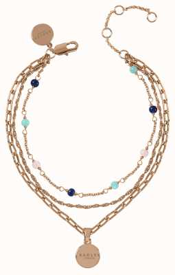 Radley Jewellery Stay Magical Layered Rose Gold Bracelet RYJ3112S