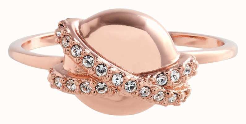 Olivia Burton Classics | Orbital | Rose Gold | Ring OBJ16CLR23
