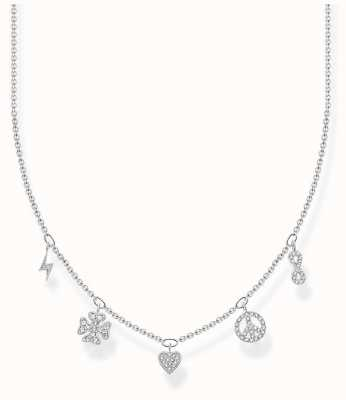 Thomas Sabo Charm Club | Sterling Silver | Symbols | Necklace KE2123-051-14-L42V