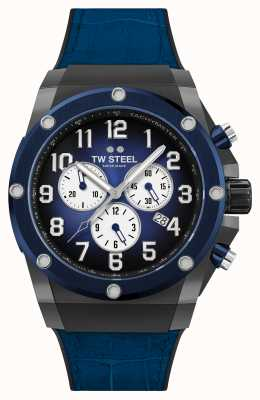 TW Steel Ace Genesis Limited Edition Rubber and Leather Strap ACE134