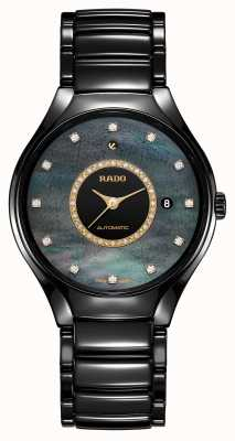 RADO True Great Gardens Of The World Black Mother Of Pearl Dial R27109742