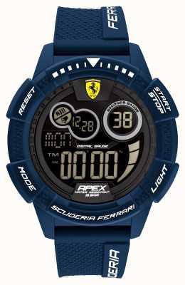 Scuderia Ferrari Apex Superfast Blue Silicone Strap 0830858