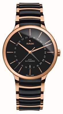 RADO Men's | Centrix | GMT | Automatic | Ceramic | Rose Gold R30162172