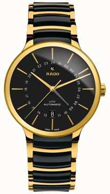 RADO Men's | Centrix | GMT | Automatic | Ceramic | Gold PVD R30163162