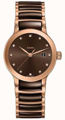 RADO Ladies Quartz Centrix Diamonds 28mm case R30555724