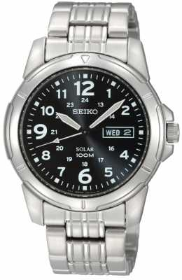 Seiko Mens Solar Powered SNE095P1