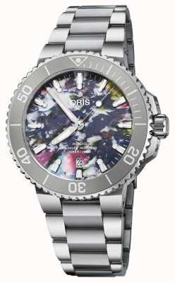 ORIS Aquis Date Upcycle 41.5 mm Watch 01 733 7766 4150-SET
