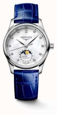 Longines Master Collection Women's Blue Leather Strap L24094870