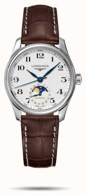 Longines Master Collection Women's Brown Leather Strap L24094783