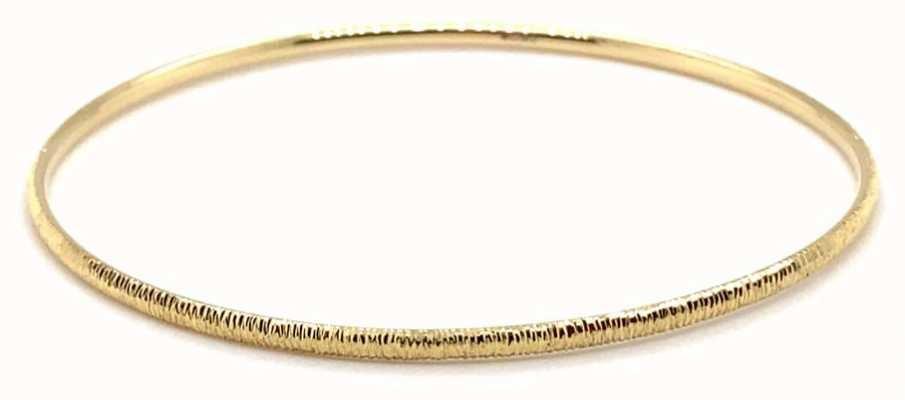 IBB 9ct Yellow Gold Diamond Cut Slave Bangle 1.35.2745