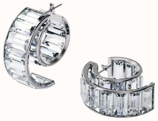 Swarovski Matrix Crystal Earrings Rhodium plated 5600776