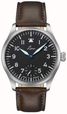 Laco ULM Men's Special Pilot Watch Brown Leather 862118