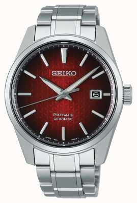 Seiko Presage Sharp Edged Series Red Dial SPB227J1