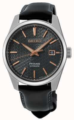 Seiko Presage Sharp Edged Series Leather Strap SPB231J1