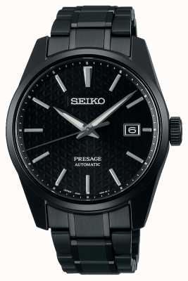 Seiko Presage Sharp Edged Series Monochrome Black Watch SPB229J1