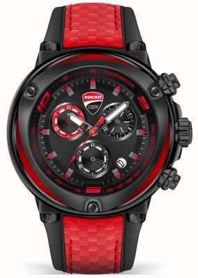 Ducati Men's Partenza Chronograph Red and Black Watch DTWGO2018805