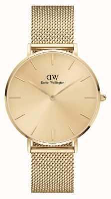 Daniel Wellington Petite Unitone 36mm Gold Milanese Mesh Bracelet DW00100475