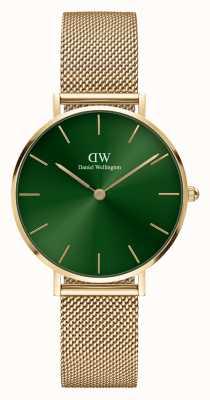 Daniel Wellington Petite Women's Emerald Green Dial Watch DW00100480