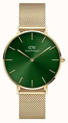 Daniel Wellington Petite Emerald 36mm Gold Bracelet Green Dial DW00100481