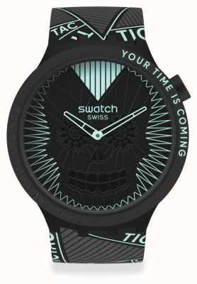 Swatch BIG BOLD | RUN BUT YOU CAN'T HIDE SB01B129