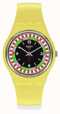 Swatch ORIGINAL GENT   YEL_RACE   Bio-Ceramic SO31J400