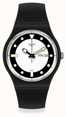 Swatch NEW GENT   BLA_DIV   Bio-ceramic SO32B705