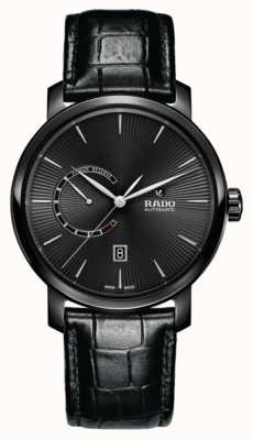 RADO DiaMaster Automatic Power Reserve Black Monochrome Watch R14137156