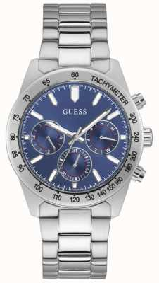 Guess ALTITUDE Men's Blue Dial Stainless Steel Watch GW0329G1