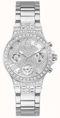 Guess MOONLIGHT Women's Crystal Set Stainless Steel Watch GW0320L1