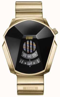 STORM Darth Gold Stainless Steel Watch 47001/GD/BK