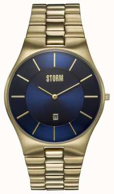STORM Slim-x Xl Gold-Plated Stainless Steel 47159/GD/B