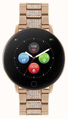 Reflex Active Series 5 Smart Watch Crystal Set Rose Gold Bracelet RA05-4072