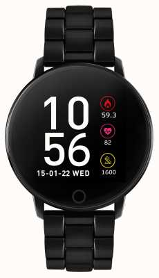Reflex Active Series 5 Smart Watch | HR Monitor | Black Plated Steel RA05-4070