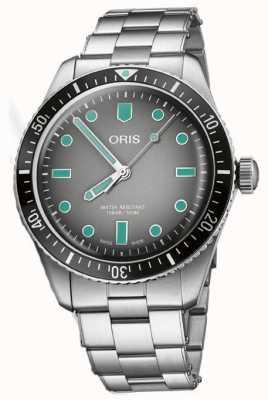 ORIS Divers Sixty-Five Grey Dial Watch Bracelet 01 733 7707 4053-07 8 20 18