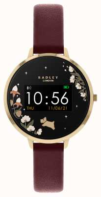 Radley Series 03 Activity Tracker Red Leather Strap RYS03-2054