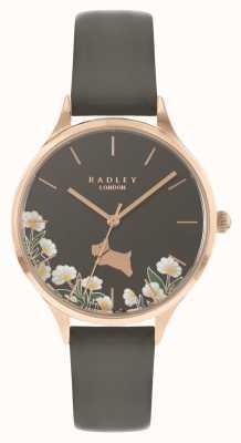 Radley Women's Grey Daisy Floral Dial Watch RY21276